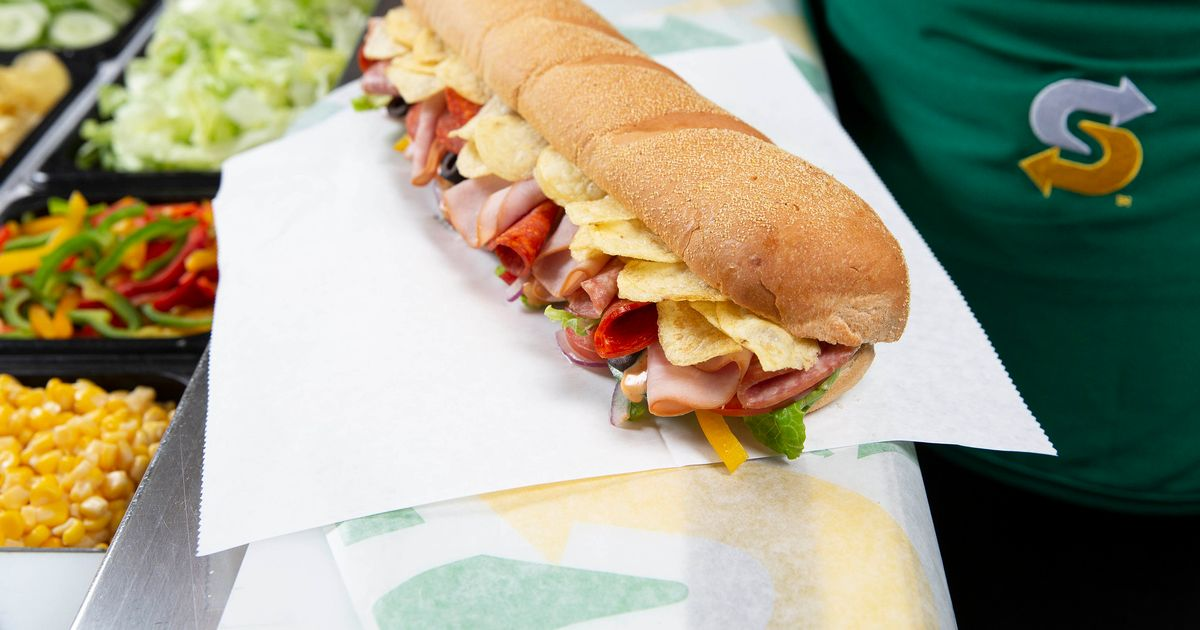 You can now add the most British ingredient ever to your Subway meal