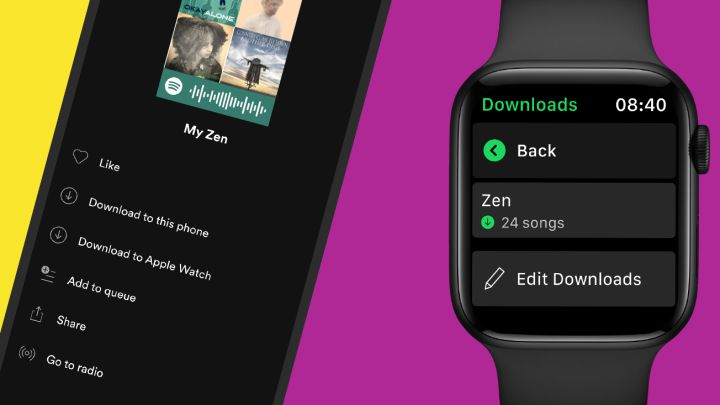So You Can Play Spotify Playlists On Apple Watch