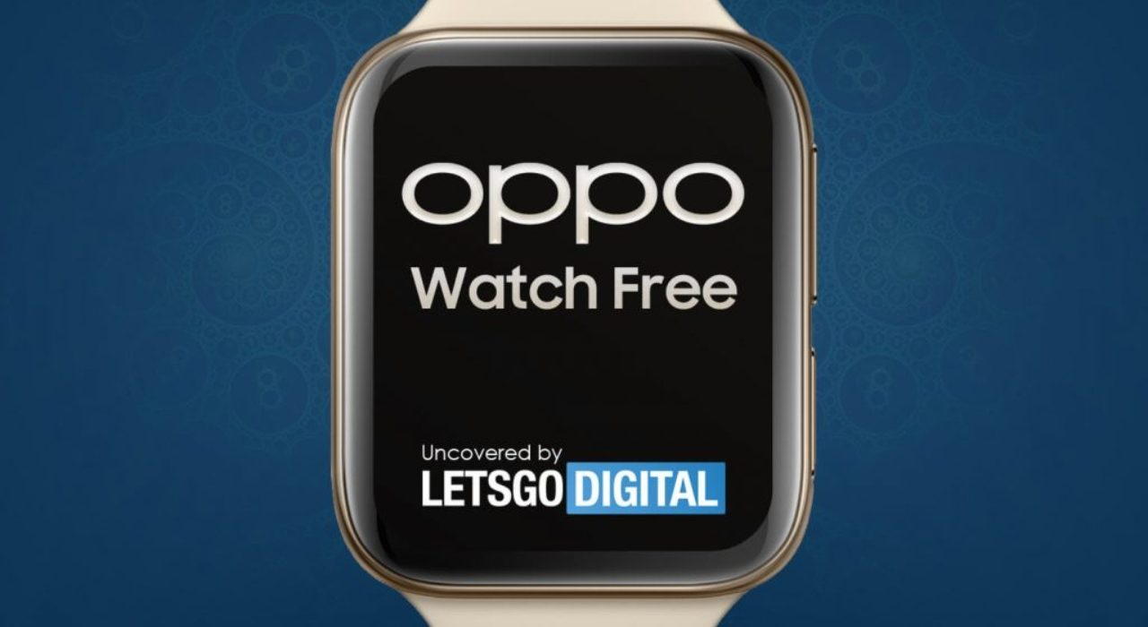 Oppo Watch Free Is On The Way Smart Watch Market Mixes