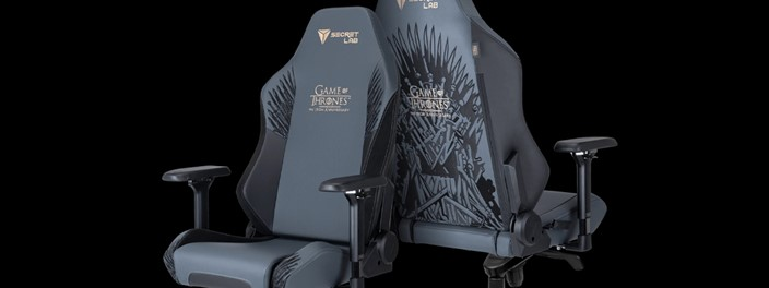 Secretlab Launches Game of Thrones-Themed Gaming Chair