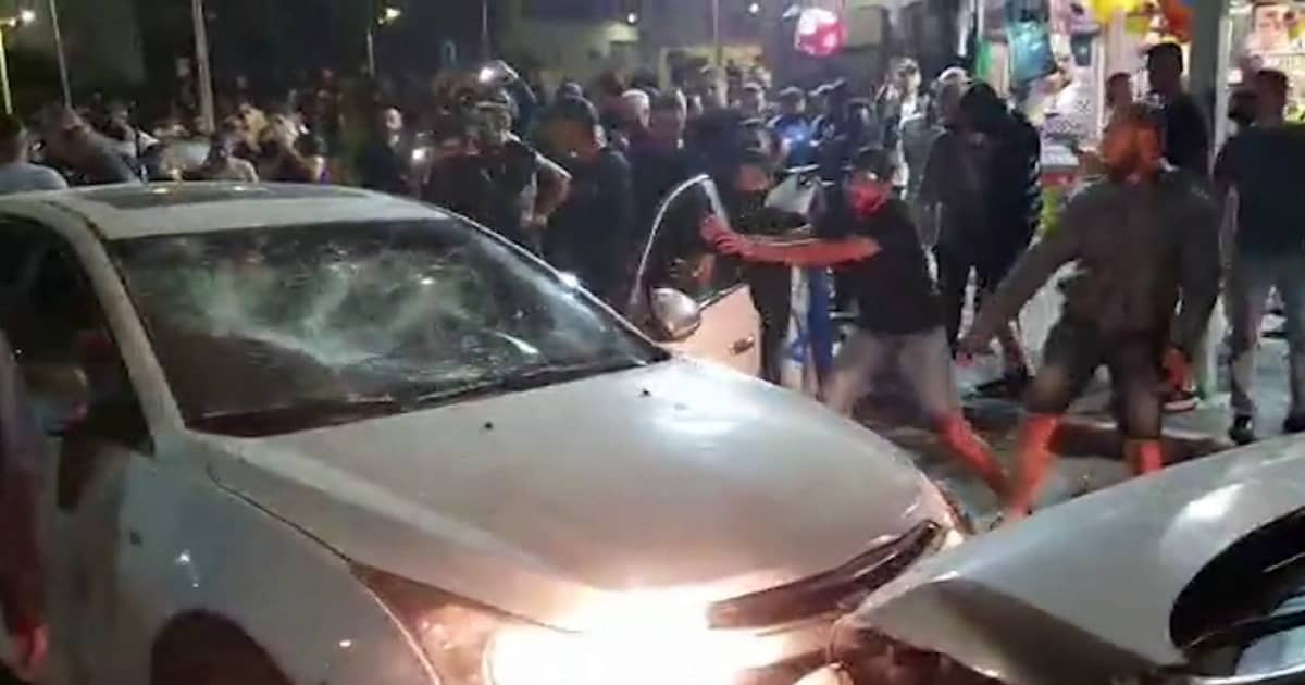 Driver left beaten, bloodied as street violence escalates in Israeli communities