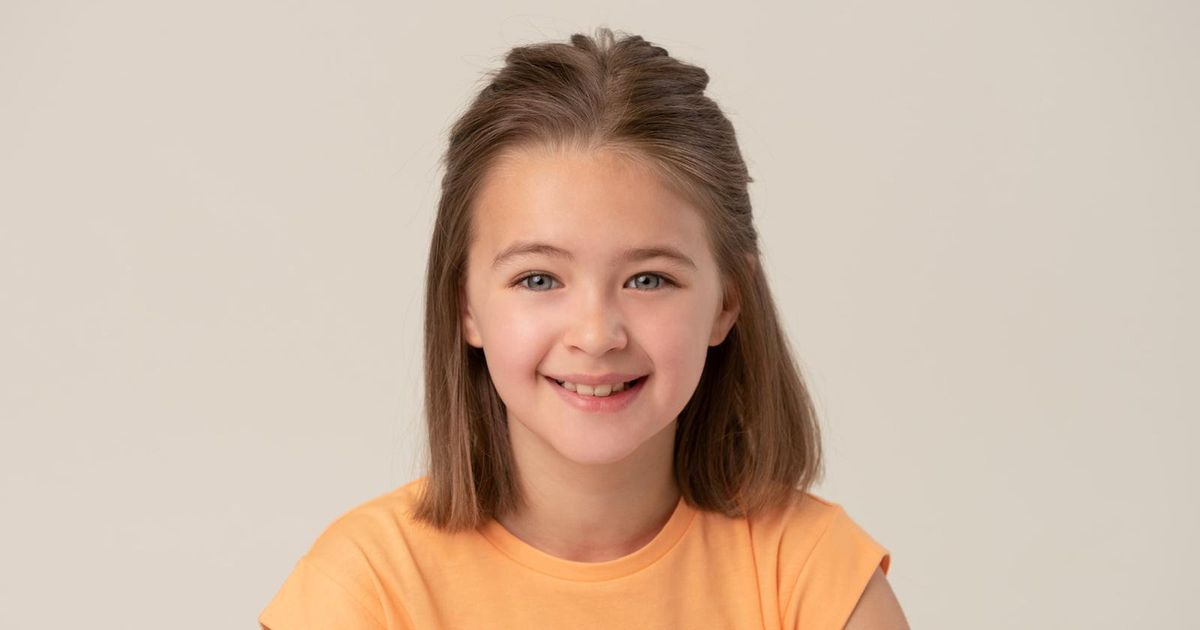Girl first spotted by scout in Asda is to star in her first film