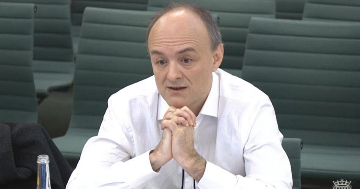 Live as Dominic Cummings tells MPs what happened in No10 Covid crisis
