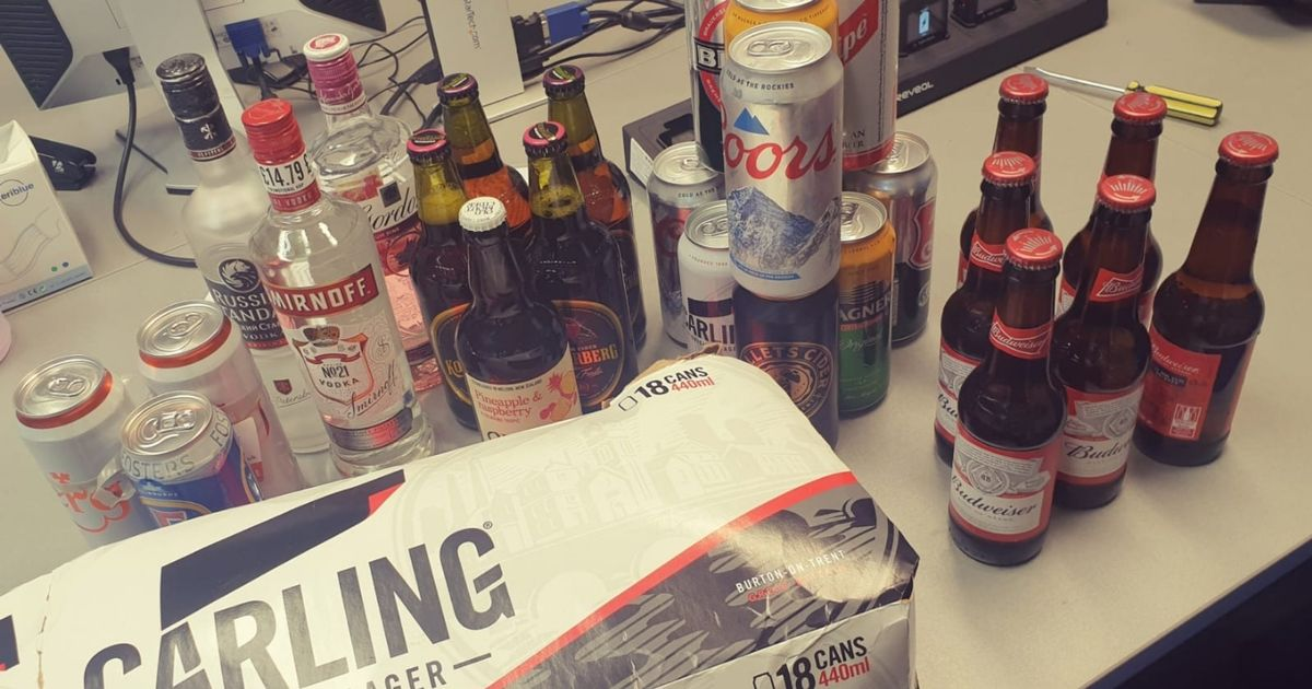 Opinion split after cops seize drinks from kids on last day of school