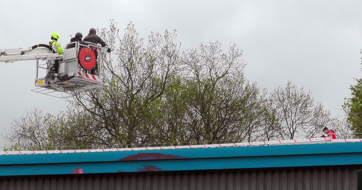 Palestine Action protestors continue rooftop demo at Israeli-owned arms factory