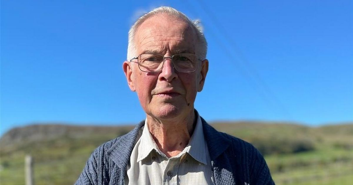 Pensioner's life saved by defibrillator he raised funds for