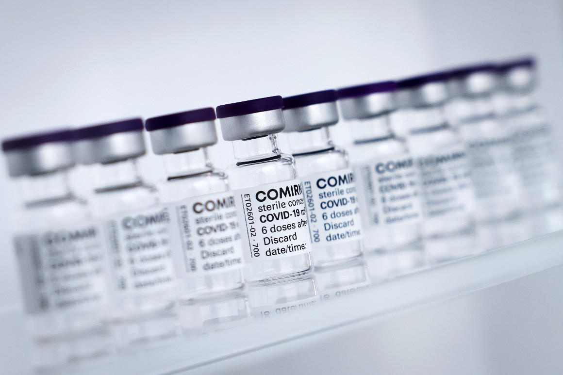 Pfizer, BioNTech agree to send doses to vaccinate Olympic delegations