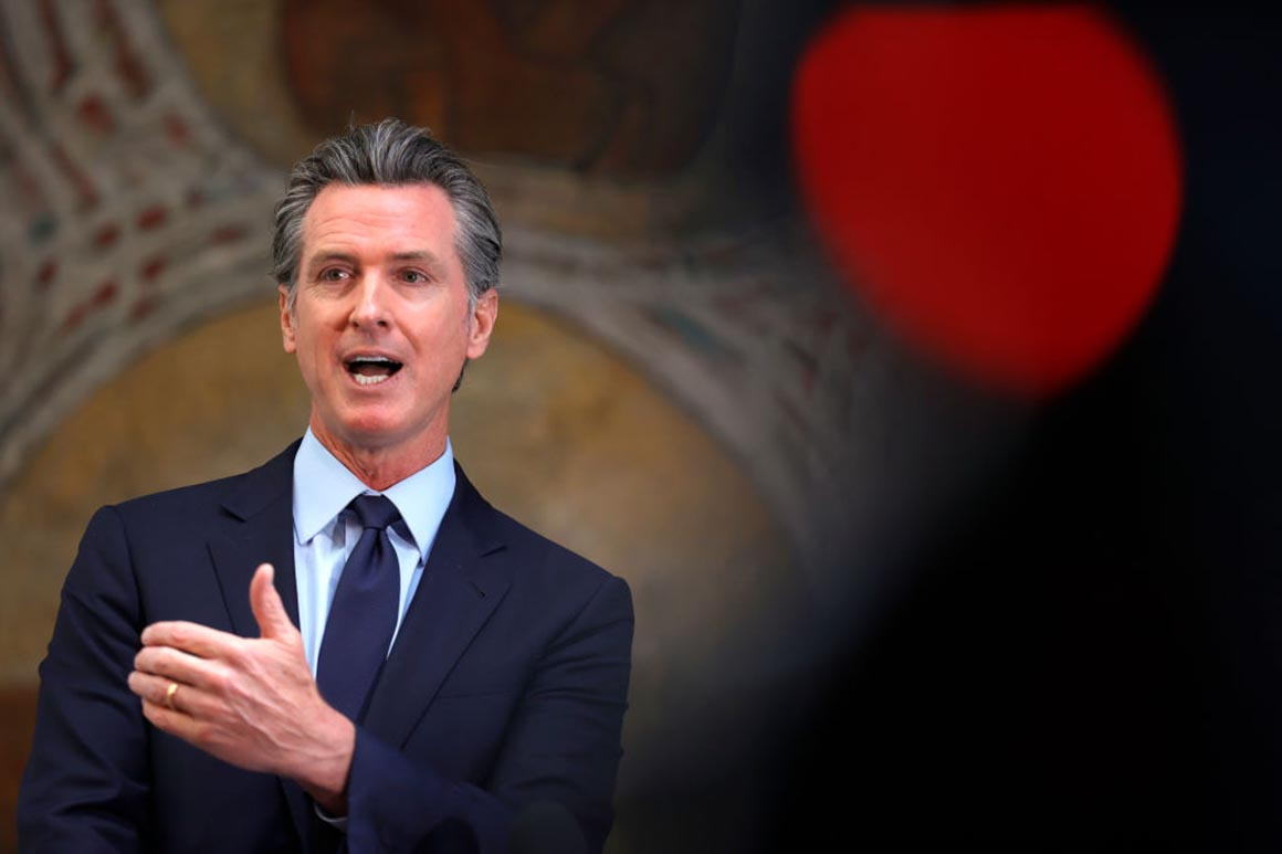 Poll: Most voters oppose Newsom recall as Covid optimism rises