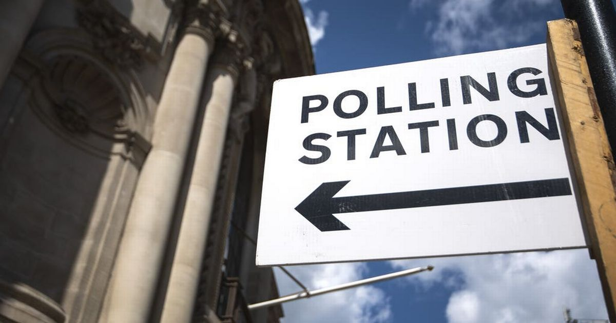 Polling booth set up in car boot after warden overslept