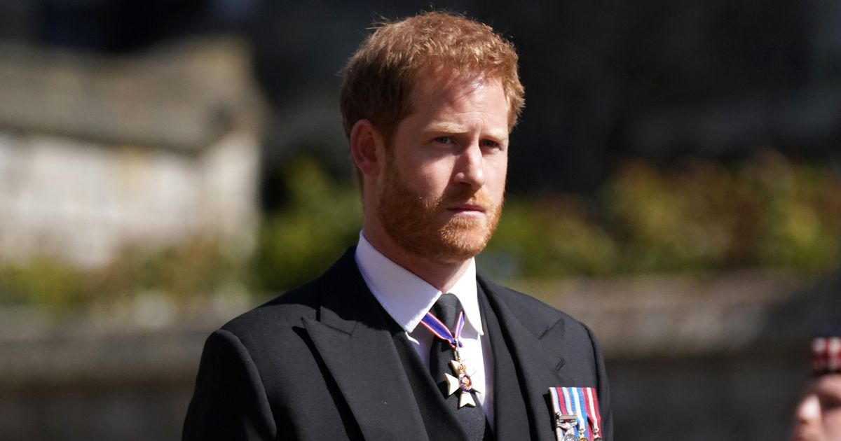 Prince Harry 'wasn't told of grandfather Philip's death by his family'