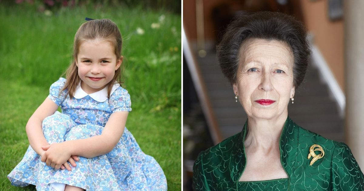 Princess Charlotte will not oust Anne in royal family shake-up