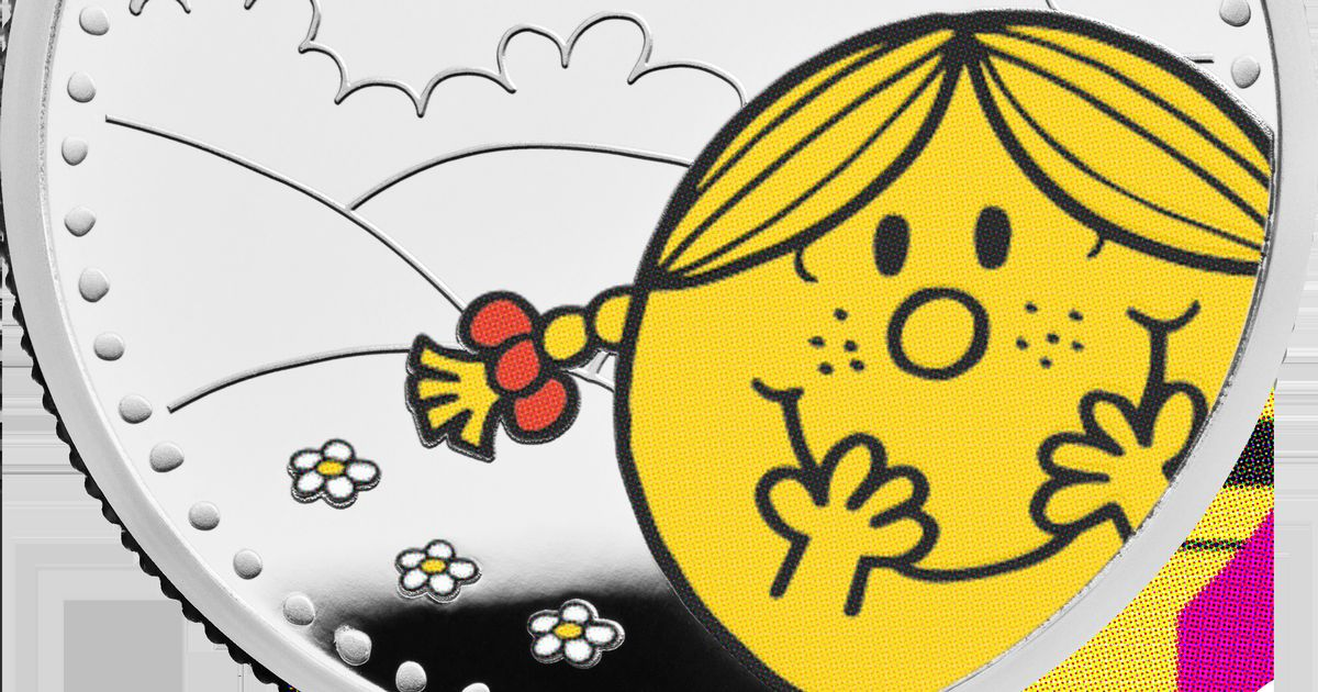 Royal Mint launches final coin in Mr. Men Little Miss collection