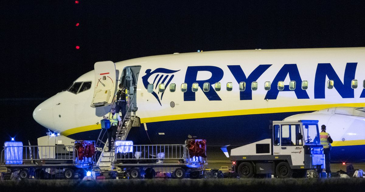Ryanair flight forced to divert because of 'potential security threat'