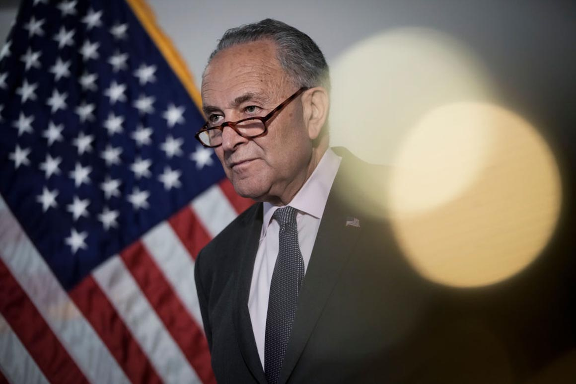 Schumer to force vote on Jan. 6 commission this week