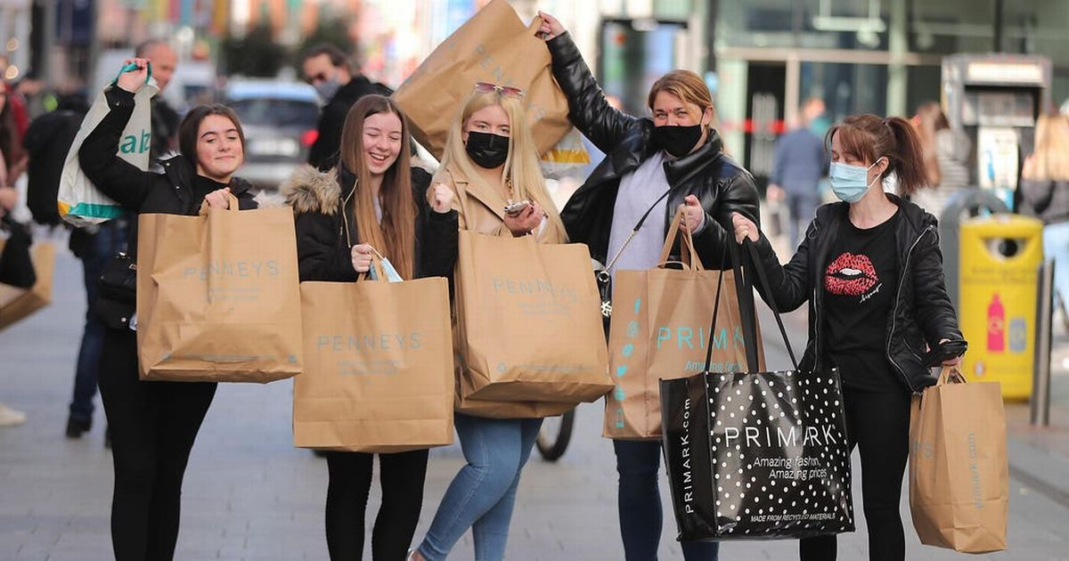 Shopping soars 46% year on year, put petrol stations down 13%