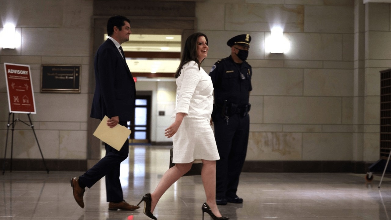 Stefanik voted in as House GOP's new No. 3 leader