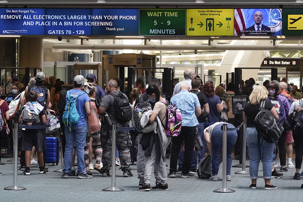 TSA reports highest travel numbers since pandemic hit