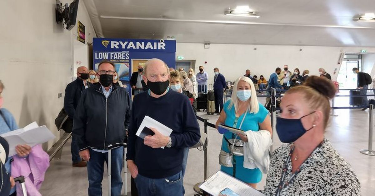 Tearful holidaymakers turned away from Ryanair flight to Spain