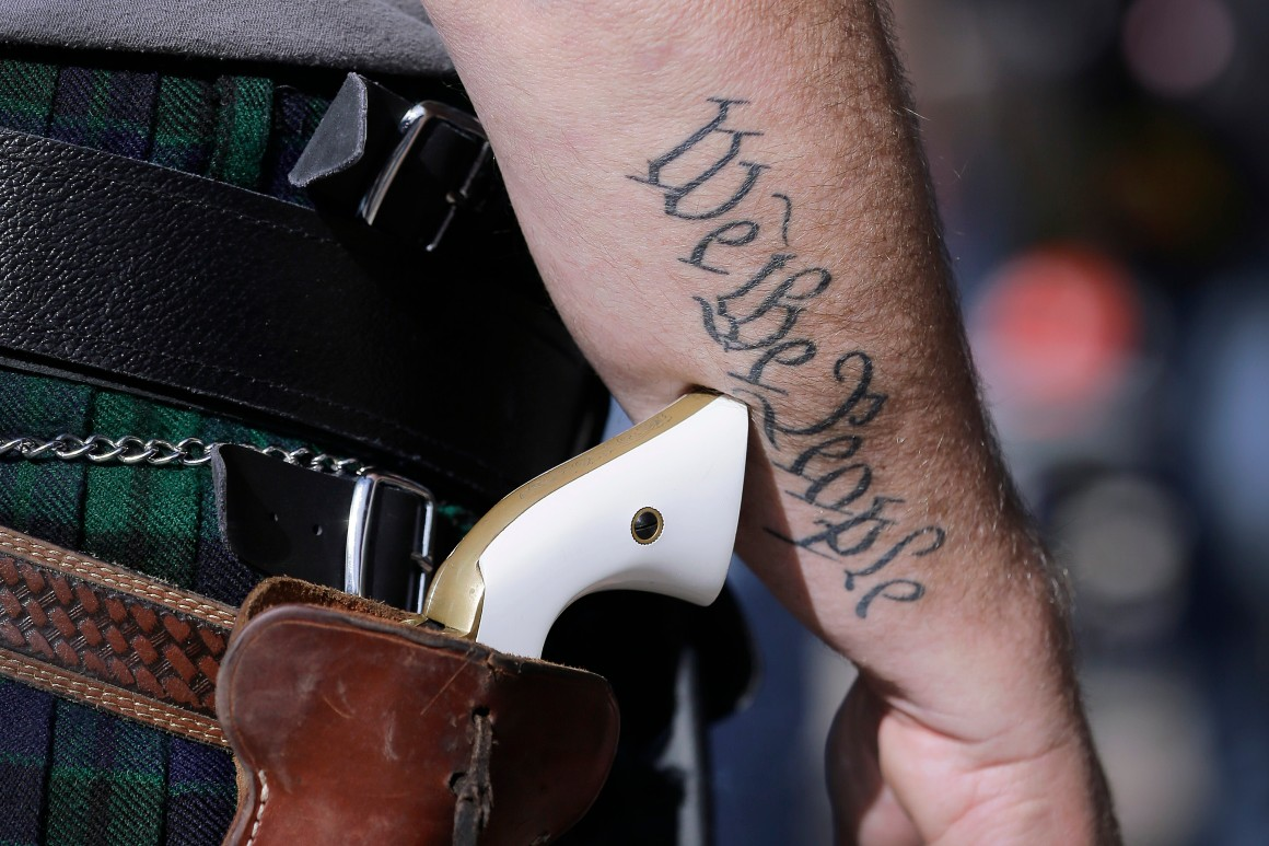 Texas poised to allow unlicensed carrying of handguns