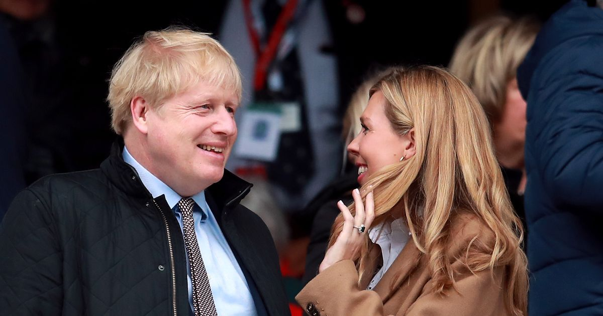Tory MPs told not to comment on Boris Johnson's secret wedding to Carrie Symonds