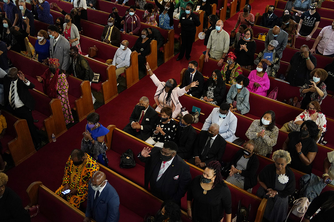 Tulsa churches honor 'holy ground' 100 years after massacre