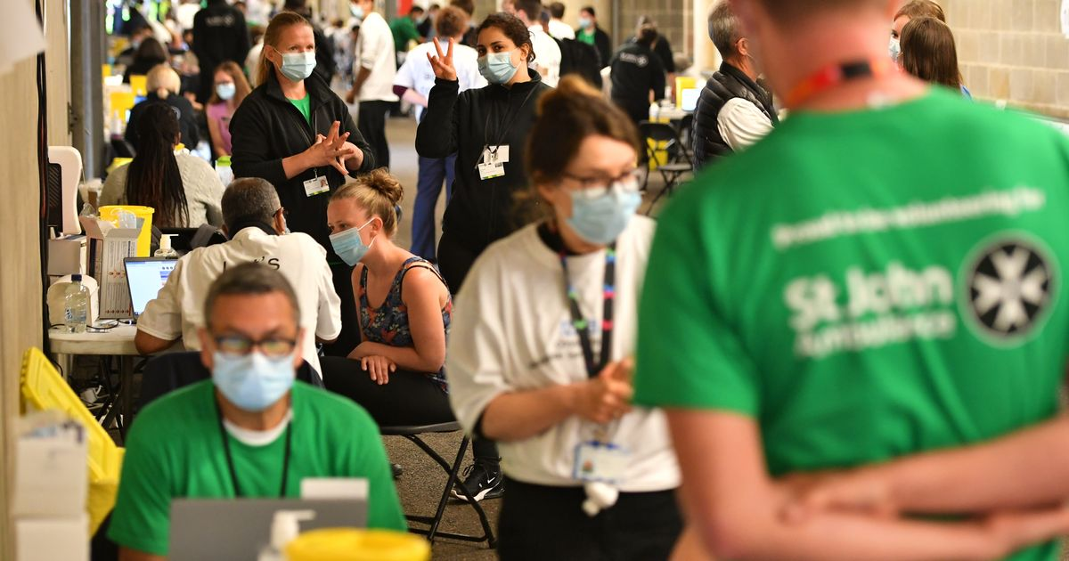 Twickenham transformed into a walk-in vaccine centre to boost effort against Indian variant