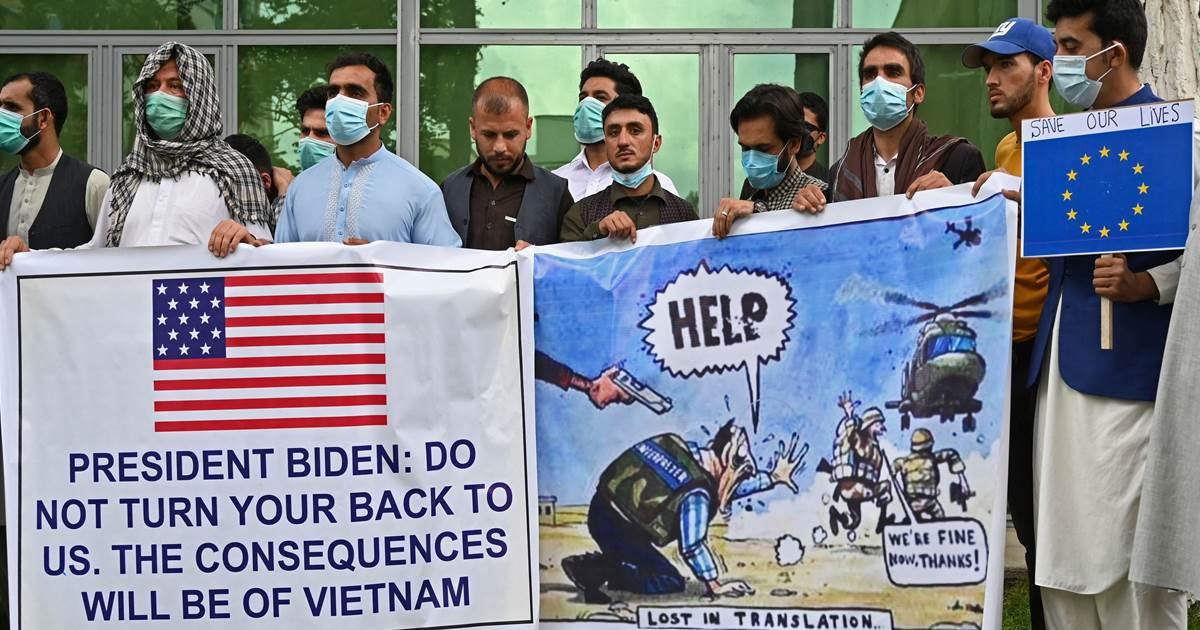 Vets, lawmakers say Biden administration not acting fast enough to help Afghans who face death from Taliban