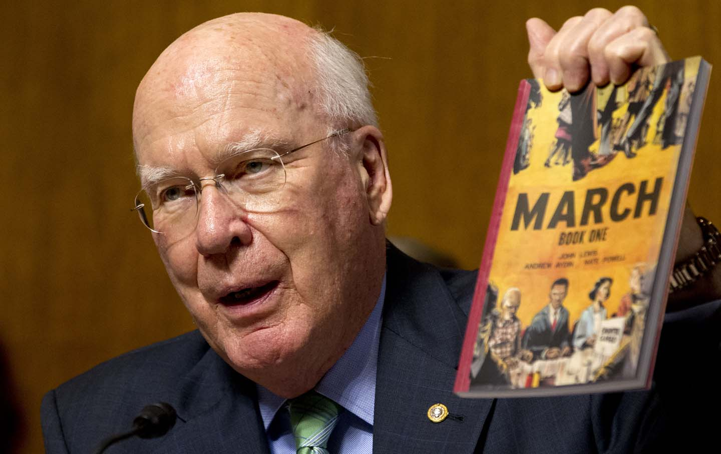 Washington Watch: Will Leahy Just Keep Truckin' On to Become History's Longest-Serving Senator?