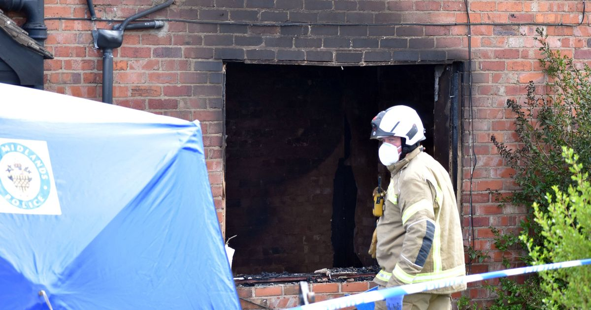 Woman, 43, dies and teenager seriously injured after house fire