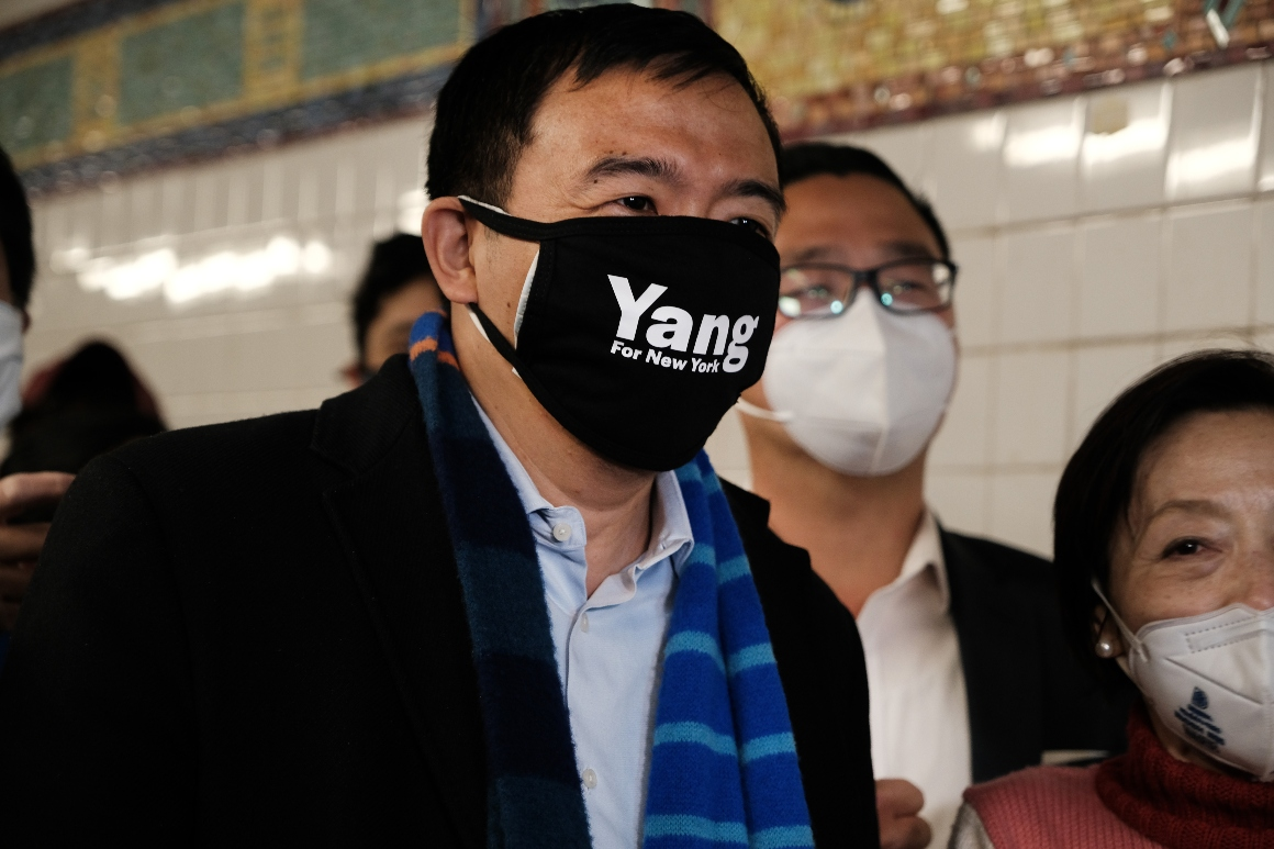 Yang close to winning support of New York's powerful Orthodox leaders