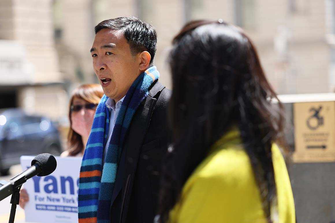 Yang fumbles on city issues as race for mayor gets more competitive