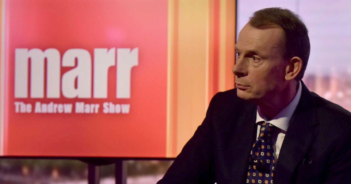Andrew Marr 'had nasty bit of Covid' despite being fully vaccinated