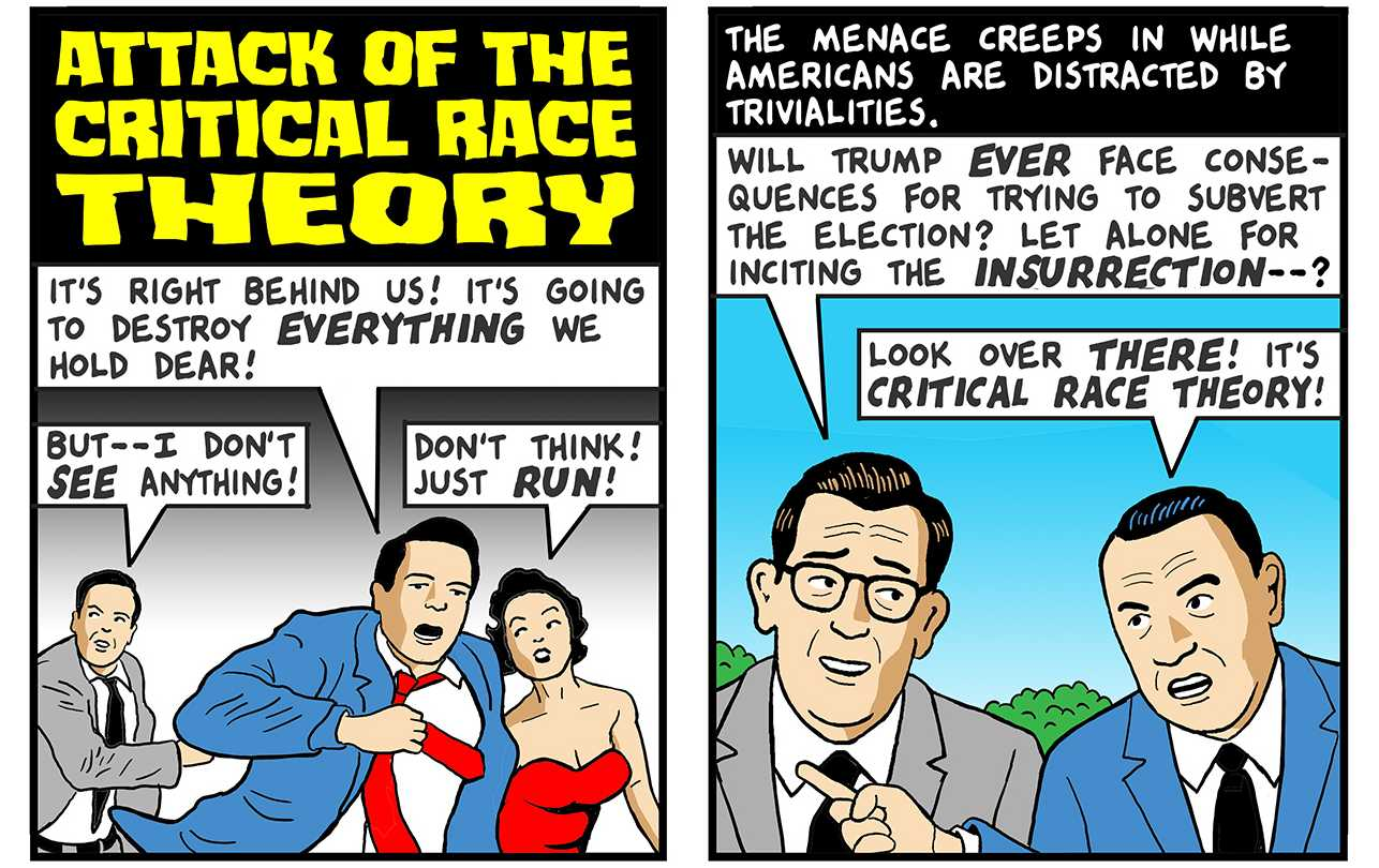 Attack of the Critical Race Theory