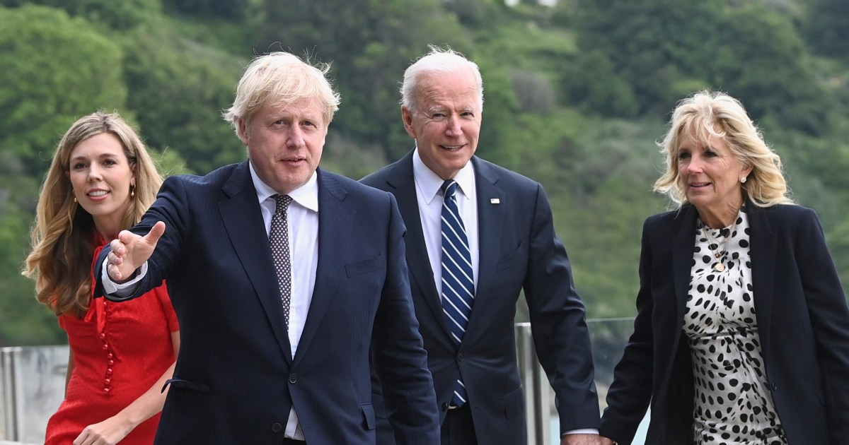 Biden, Johnson sign new charter on trade and defense