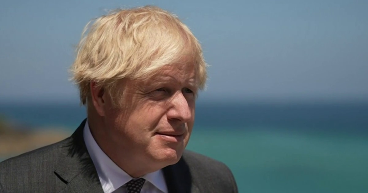 Boris Johnson dodges question on whether it was fair for Biden to call him Trump's 'clone'