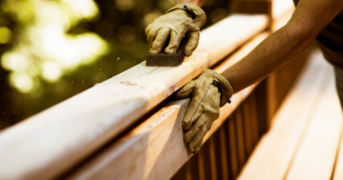 Caring husband builds bench for his ailing wife when council fails to do so