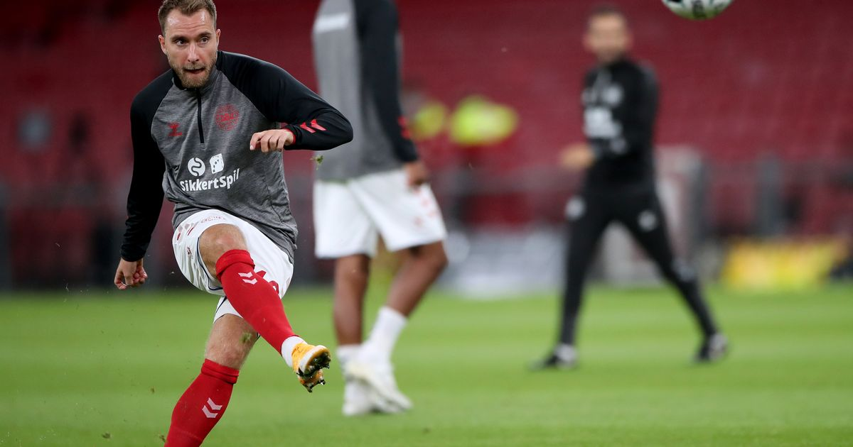 Christian Eriksen collapses on pitch as Denmark play Finland at Euro 2020