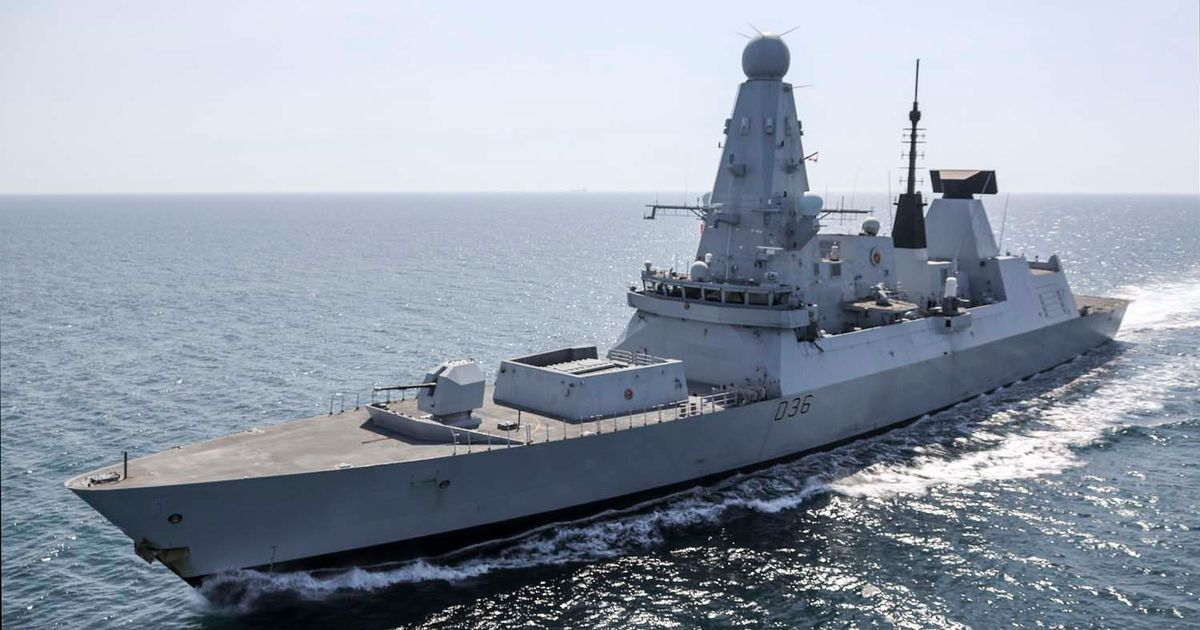 Classified MoD documents about HMS Defender and Afghanistan found at bus stop