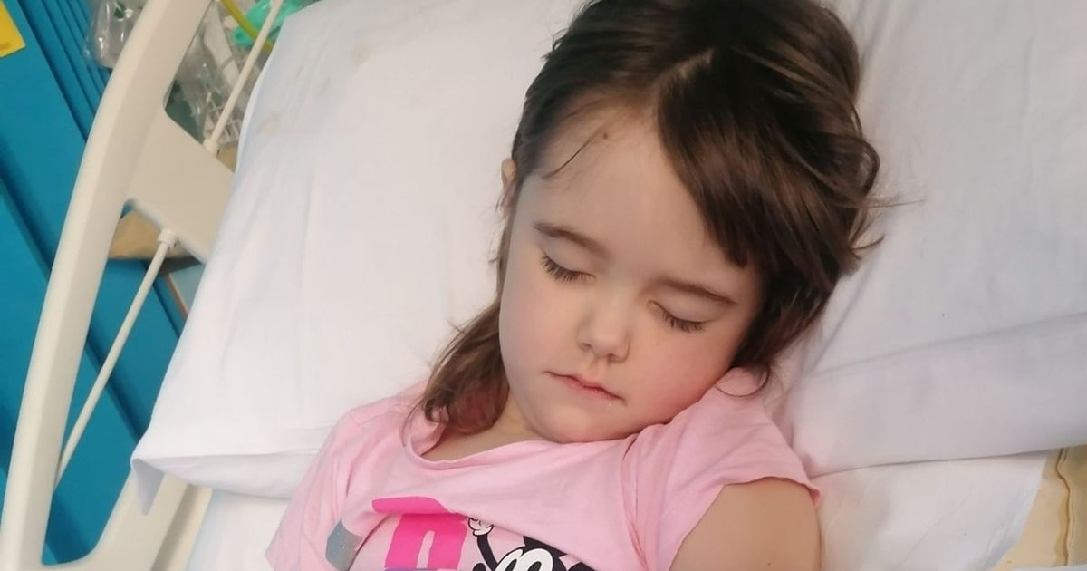 Coin was lodged inside little girl's throat for more than a year