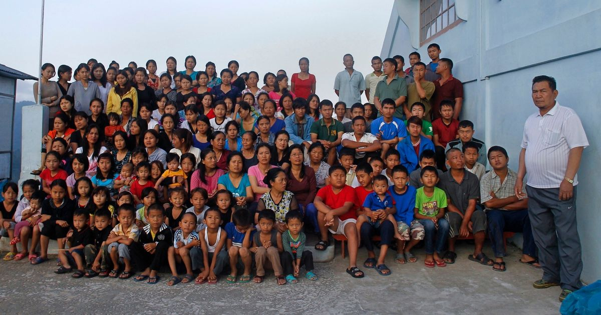Dad to 'world's largest family' with 94 children and 39 wives dies aged 76