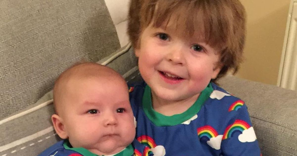 Doting sibling gives 'matter-of-fact' explanation of brother's birth