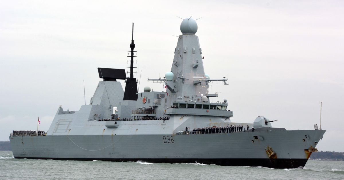 HMS Defender and Russia - what the law of the seasays