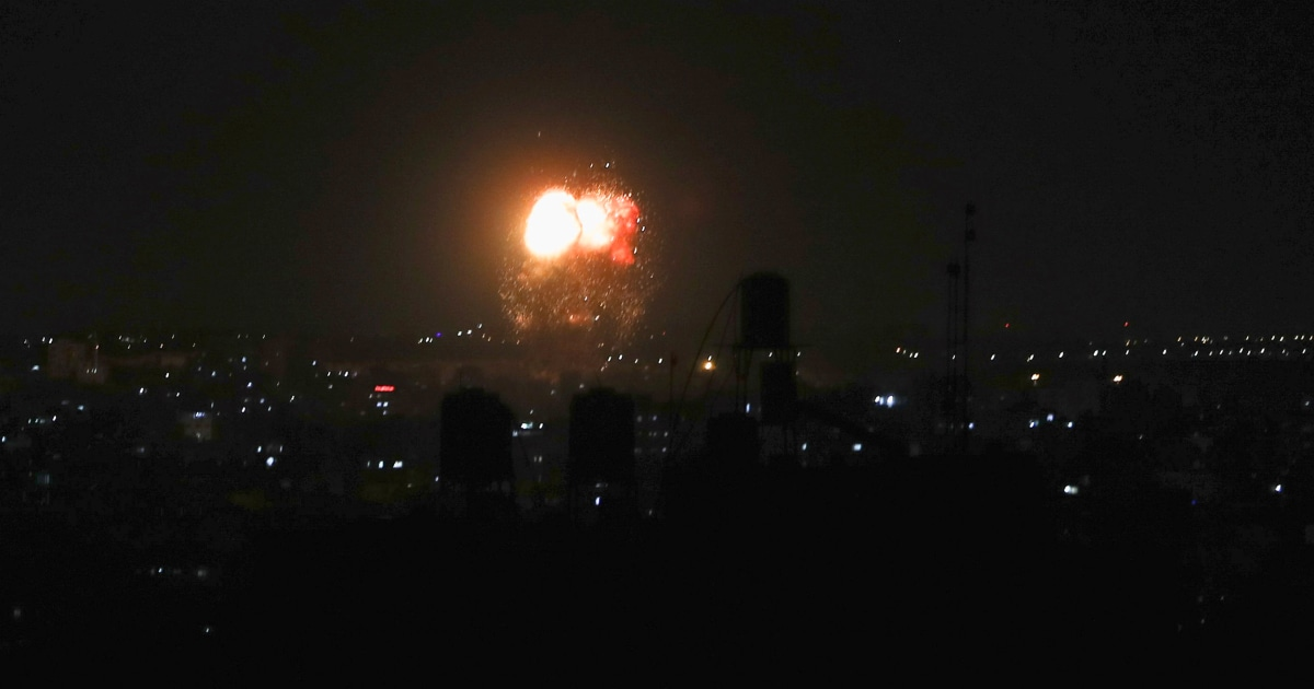 Israel launches more strikes in Gaza Strip over incendiary balloons