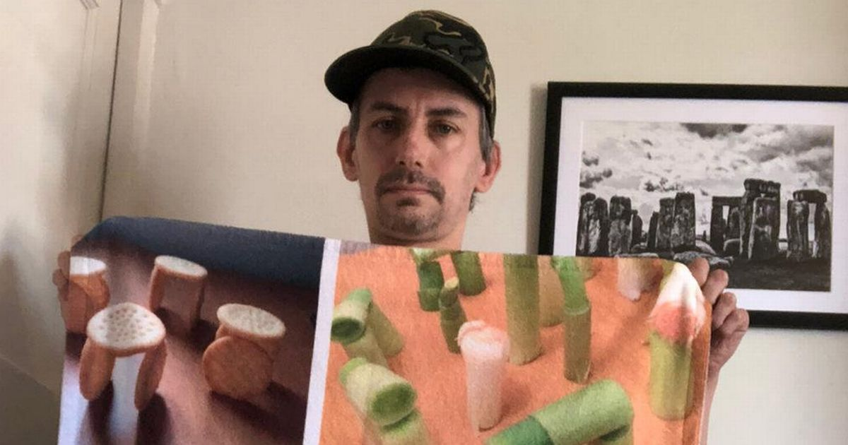 Man spends hundreds of pounds on quirky Stonehenge hobby