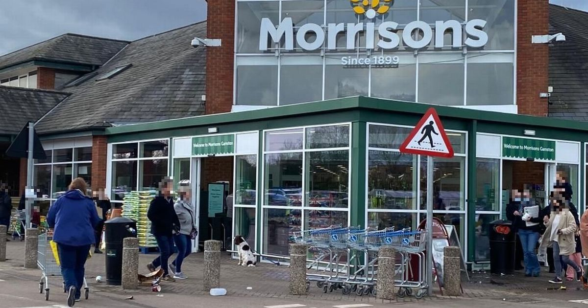 Mum blasts Morrisons after girl helps man collapsed outside shop