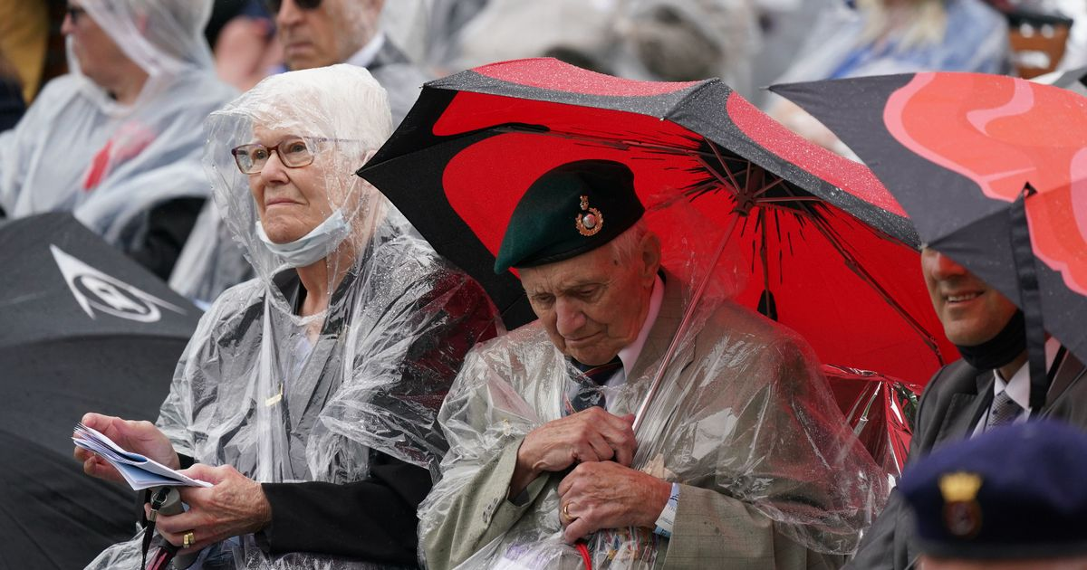 Normandy veterans gather  for D-Day memorial opening