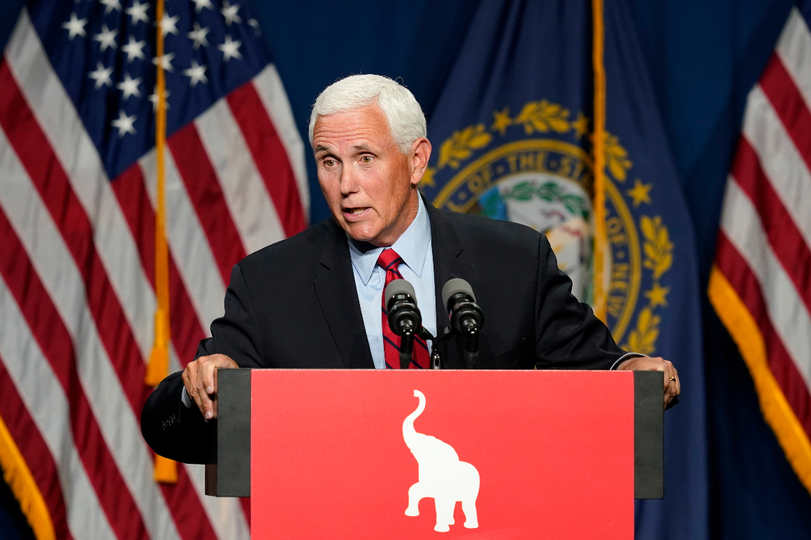 Pence says he 'may never see eye to eye' with Trump on Jan. 6 insurrection