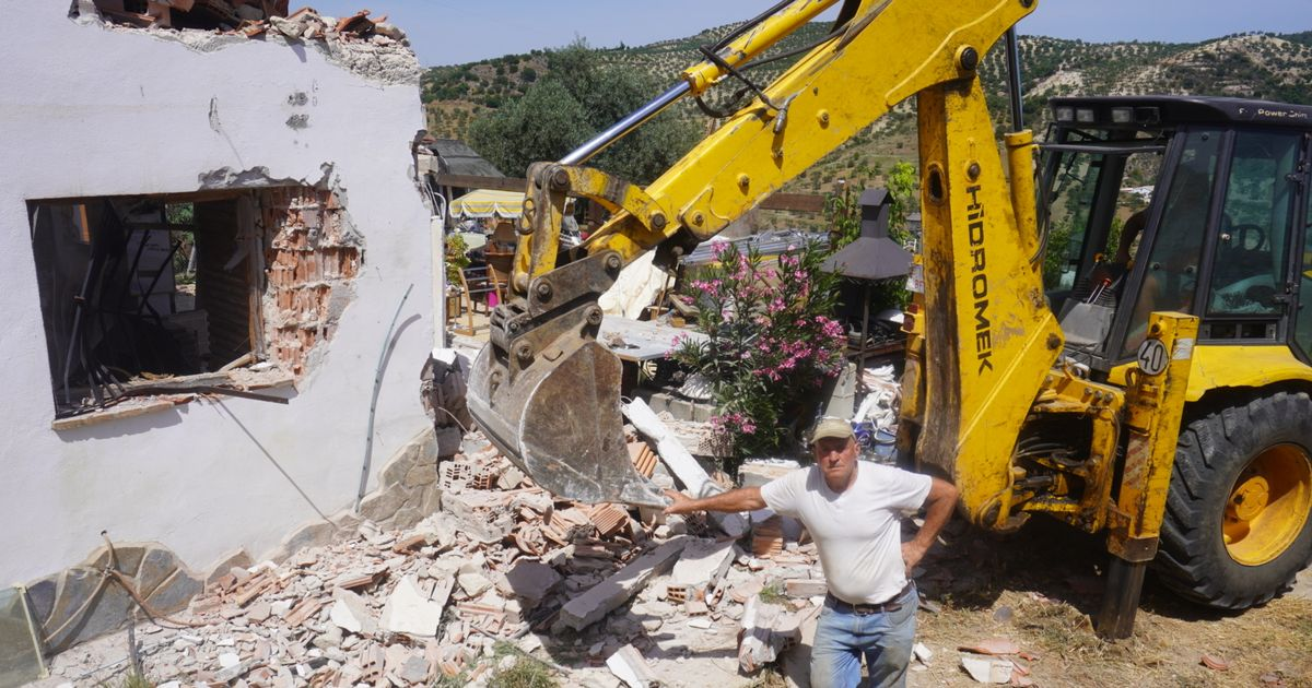 Pensioner who built 'dream home' in Spain with late wife forced to knock it down