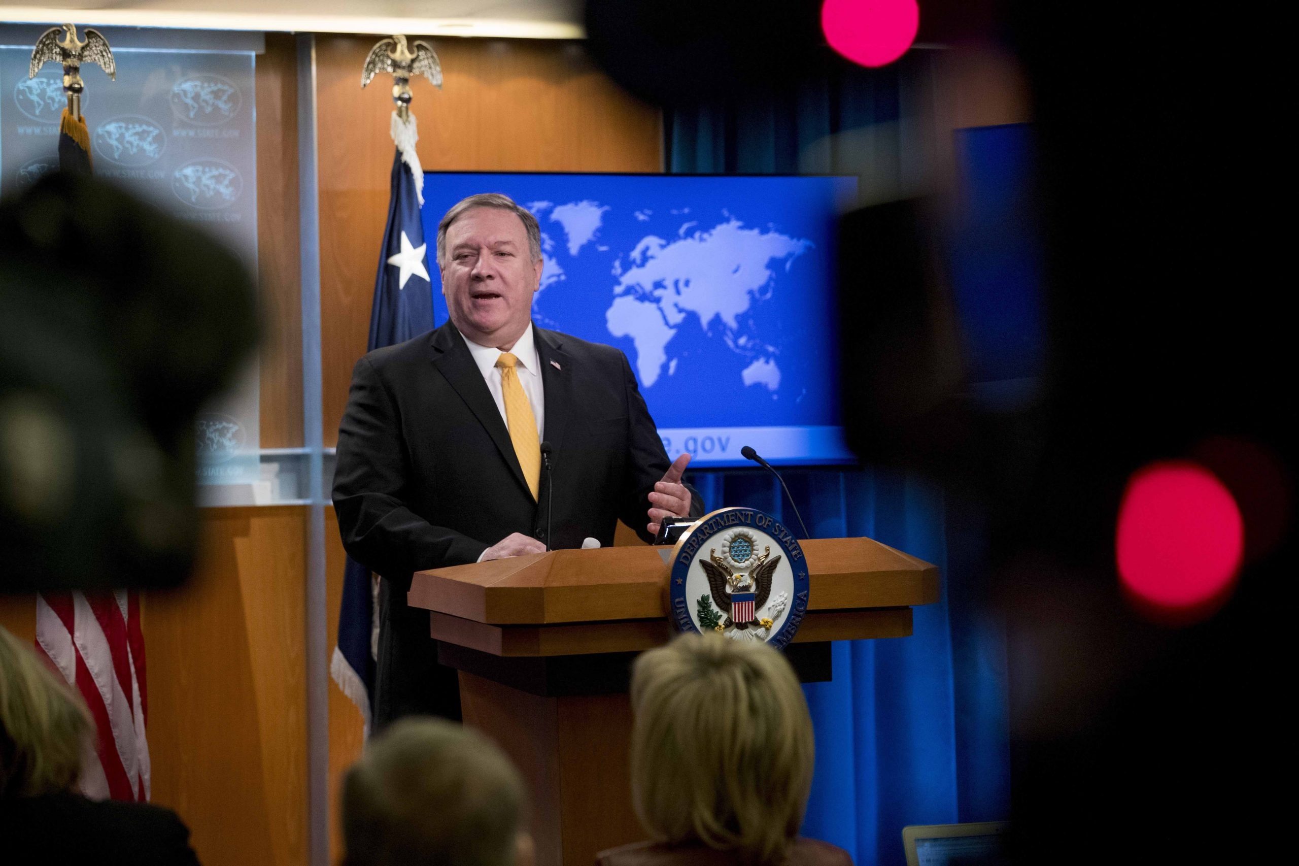 Pompeo insists Covid-19 leaked from a Chinese lab