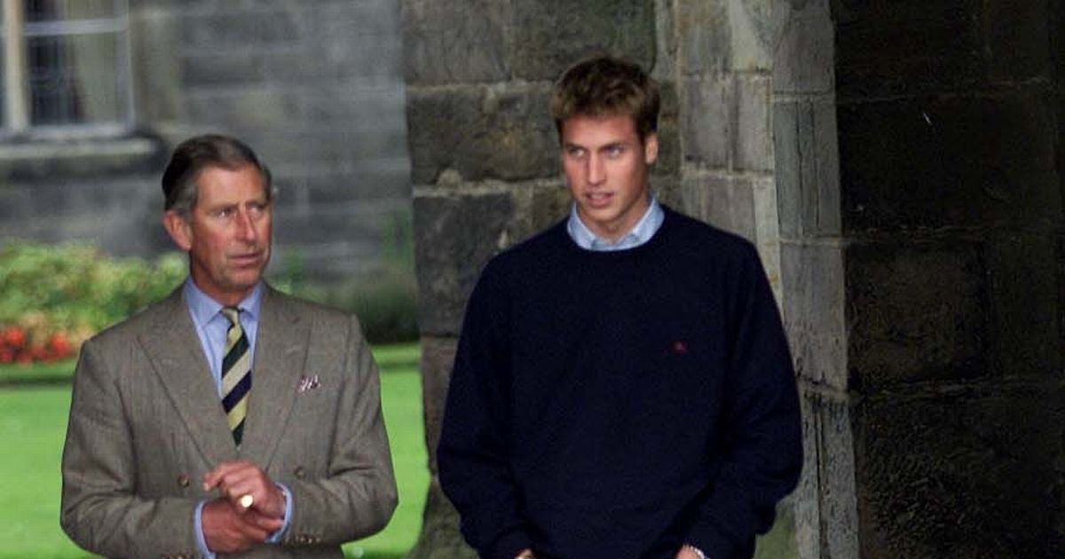 Prince William moved his father to tears with a comment to a farmer